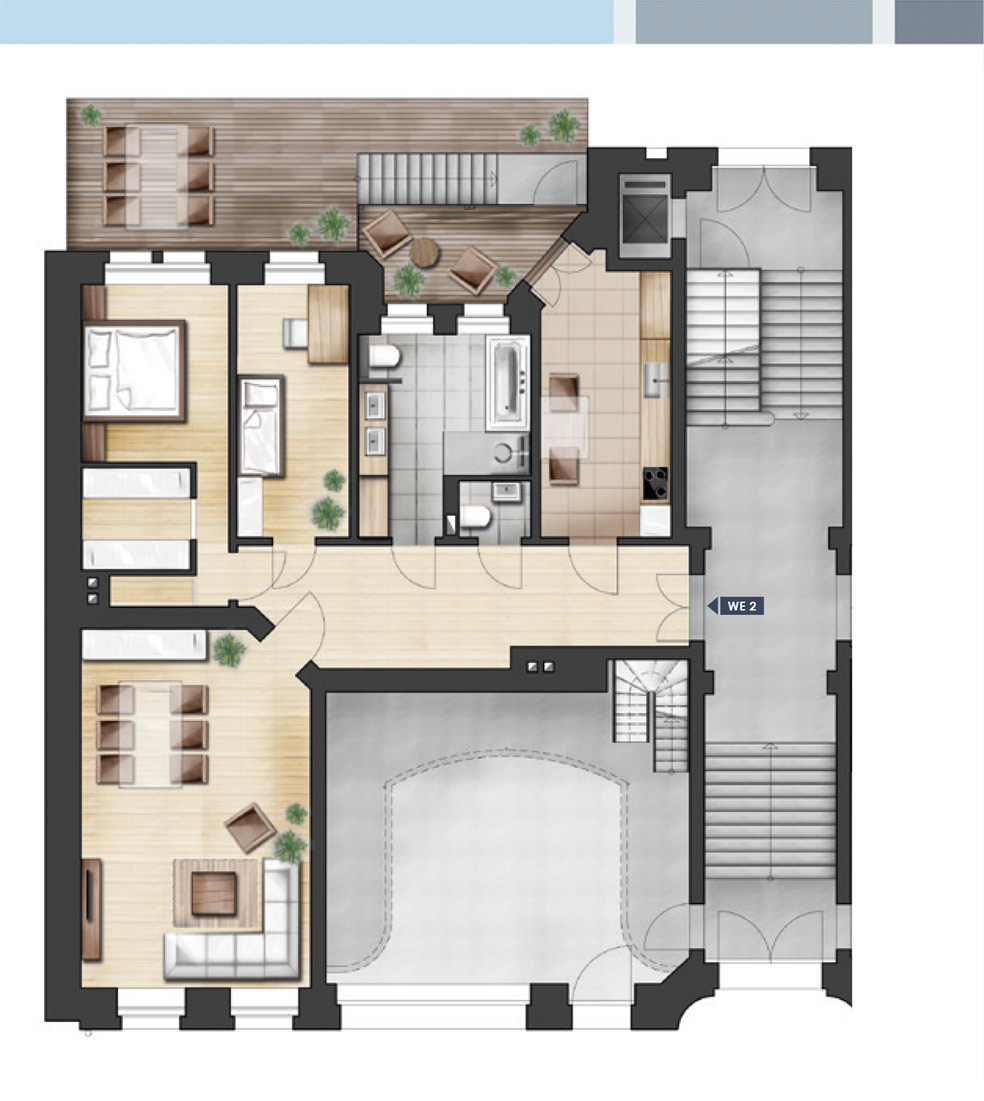 ja14 jahnallee 14 eigentumswohnungen im leipziger waldstra enviertel wohnung 02 hp links. Black Bedroom Furniture Sets. Home Design Ideas