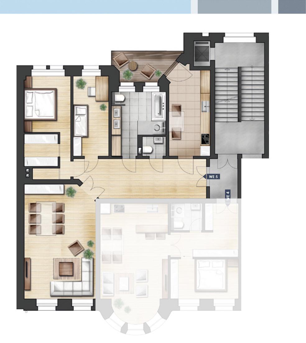 ja14 jahnallee 14 eigentumswohnungen im leipziger waldstra enviertel wohnung 05 1 og rechts. Black Bedroom Furniture Sets. Home Design Ideas